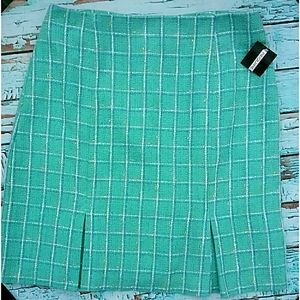 🎈Nwt! REQUIREMENTS] Tweed Plus Size Skirt Size 16